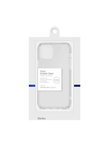 Benks Apple iPhone 12 Pro Kılıf Magic Crystal Clear Glass Case Renksiz